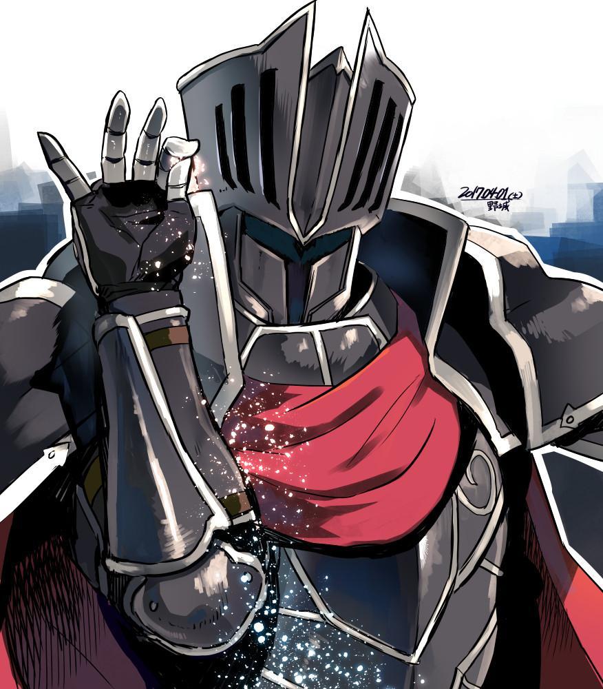 Sticker risitas fe fire emblem blackcknight feh chevalier noir