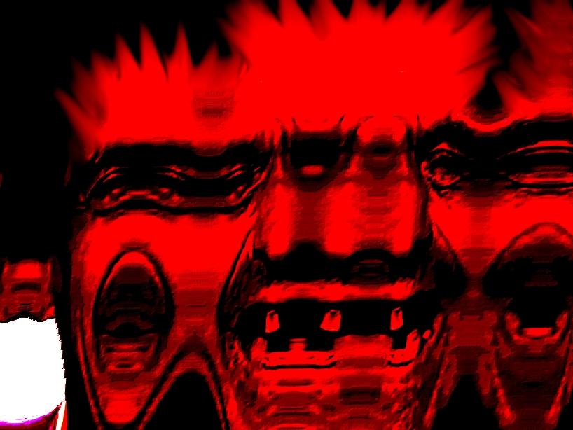 Sticker risitas goudja peito cunao monstre aya issou immondice creepy enfer
