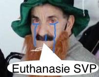 Sticker risitas vieux euthanasie vieillard loque regard senile triste maison retraite dignite svp