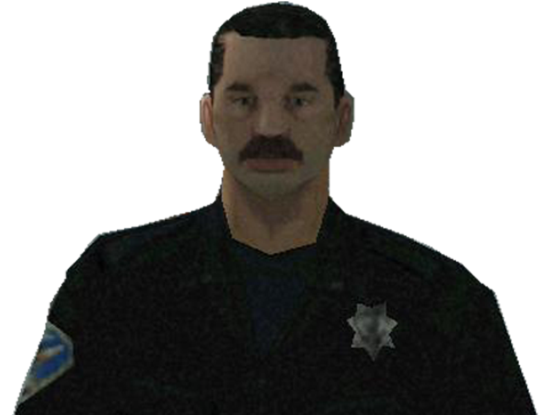 Sticker other gta sa policier moustache rue marche krankin cheveux courts police 2 sucres gilbert