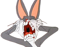 Sticker other bugs bunny cri crier hurle