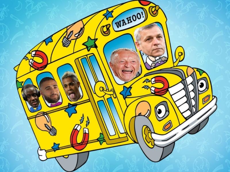 Sticker risitas genesio aulas fekir diakhaby mariano bus
