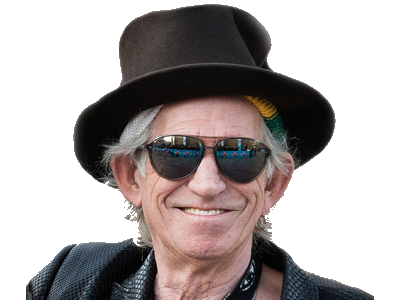 Sticker other keith richards rolling stones rock pirate
