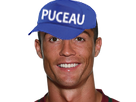 Sticker risitas ronaldo puceau psg