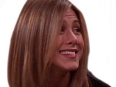 Sticker risitas moquerie hihi aha haha rire jennifer aniston belle femme