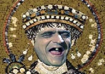 Sticker risitas iustinianus justinien rome constantinople cunao byzance est empire romain antique empereur