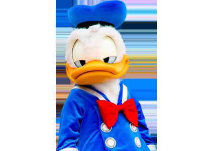 Sticker other donald duck disney sourire