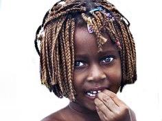 Sticker other enfant africain pauvre