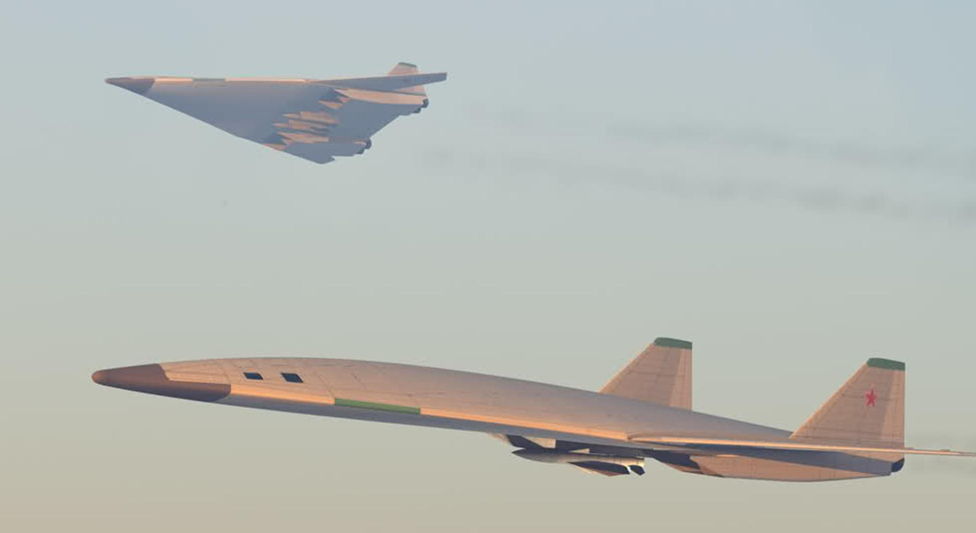 Sticker risitas urss communisme bolchevique avion chasse ufo bombardier bomber tr3b aurora b2