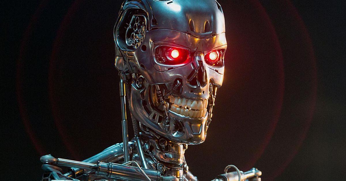 Sticker risitas terminator futur robot