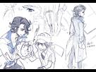Galerie de Platane Hakase [Le nouveau professeur Pokémon ultra hawt] - Page 2 1382175558-professor-sycamore-sketch-3