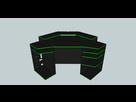 sketchup bureau d 39 angle gamer personnalisable sur le forum mat riel informatique 11 12 2014. Black Bedroom Furniture Sets. Home Design Ideas