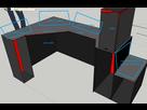 project bureau gamer sur mesure sur le forum mat riel informatique 29 06 2015 19 59 13. Black Bedroom Furniture Sets. Home Design Ideas