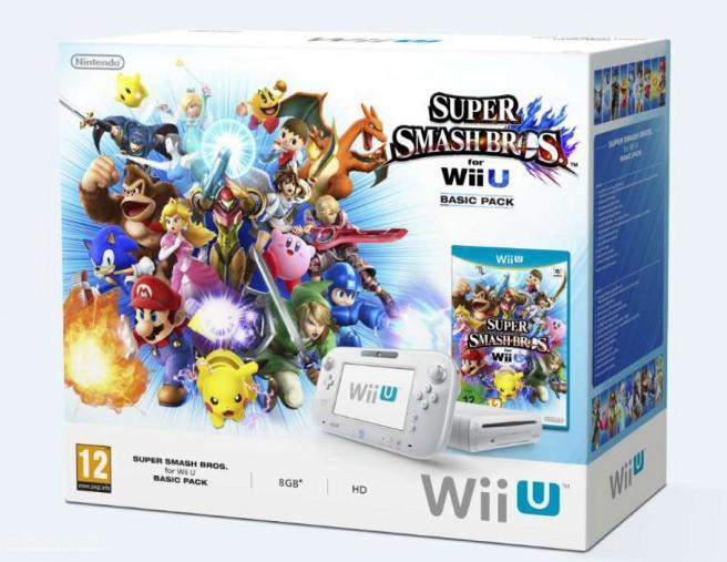 Bundle Wii U + Super Smash Bros. pour le 19 décembre
