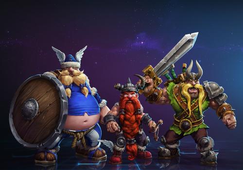 Les Vikings Perdus débarquent sur Heroes of the Storm !