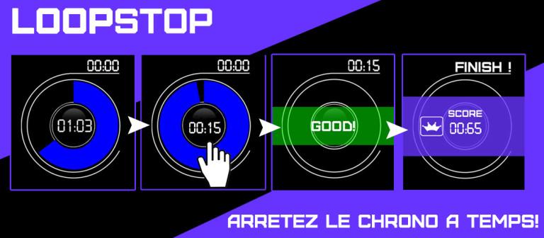 LoopStop, le premier jeu français de l'Apple Watch