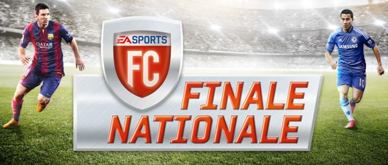 Les phases finales du championnat de France de FIFA le 30 mai
