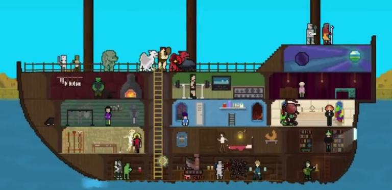 You Must Build a Boat - Partez à l'abordage d'un jeu indé haut en couleur