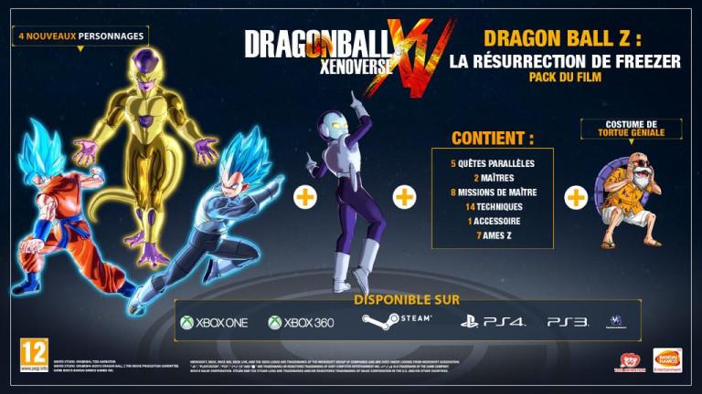 Le DLC de Dragon Ball Xenoverse sur Gaming Live