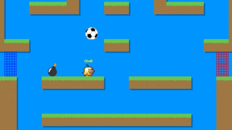 Un jeu de football en multijoueur sur le Web