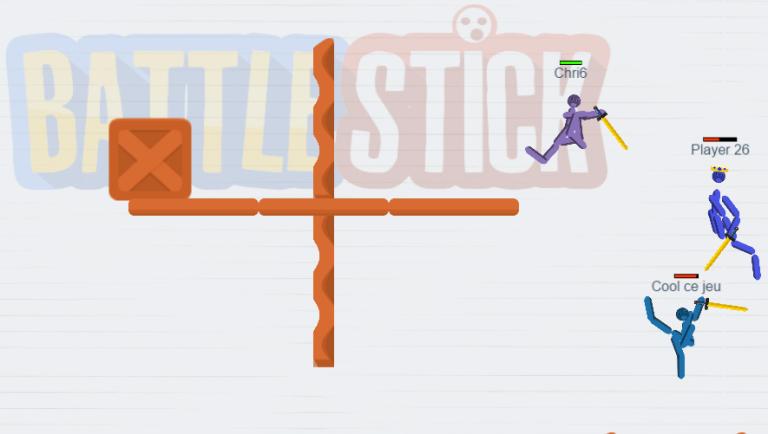 Découvrez BattleStick, un jeu multijoueur en temps réel sur navigateur Internet