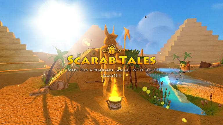 Scarab Tales disponible sur steam