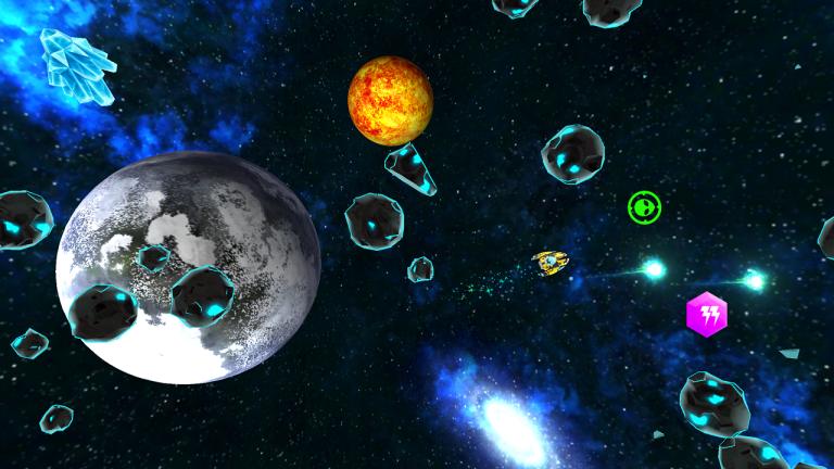 ALIENGINE - Un jeu d'arcade mêlant adresse et tir