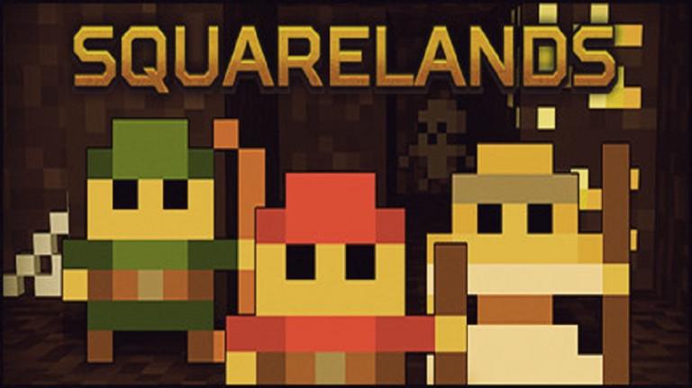Squarelands : Un nouveau sandbox pixelisé