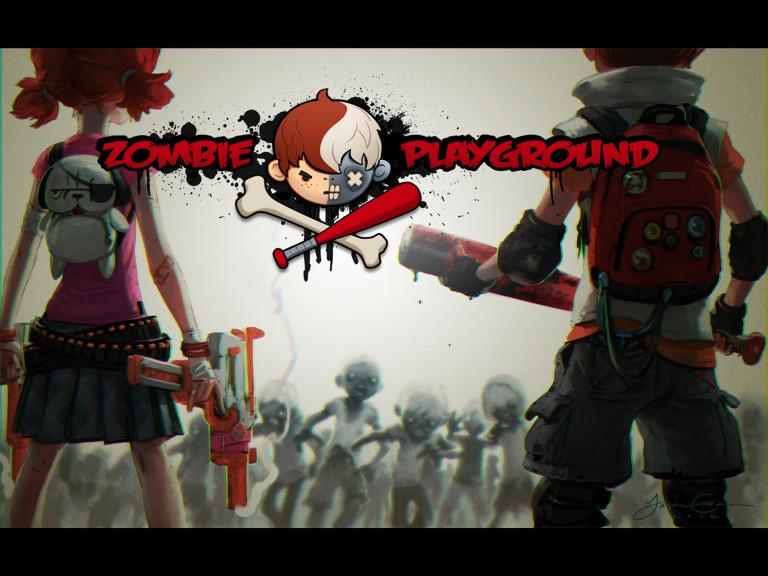 Zombie Playground : Un jeu de zombie enfantin