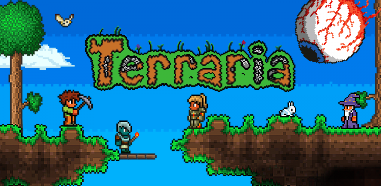 Terraria s'invite en 2016 sur Wii U et Nintendo 3DS