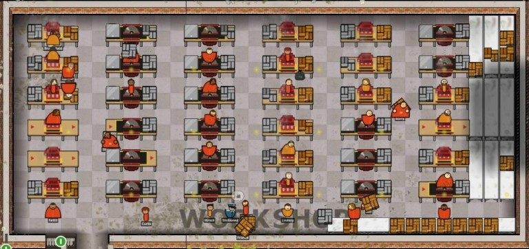 Prison Architect : La gestion sous haute tension