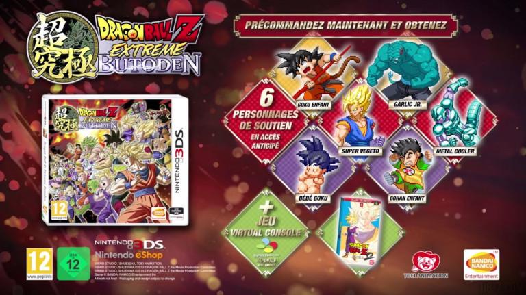 Dragon Ball Z Extreme Butôden : Vegeta SSGSS déblocable dans la démo