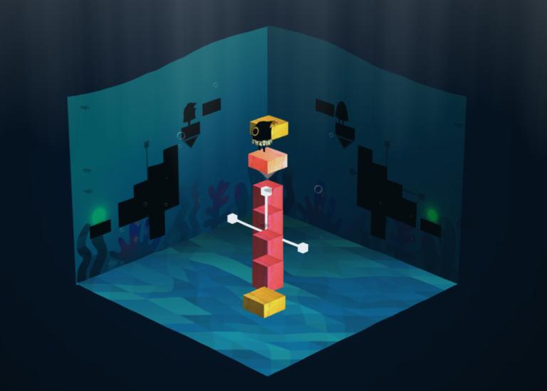 Dissonance, un puzzle game étonnant