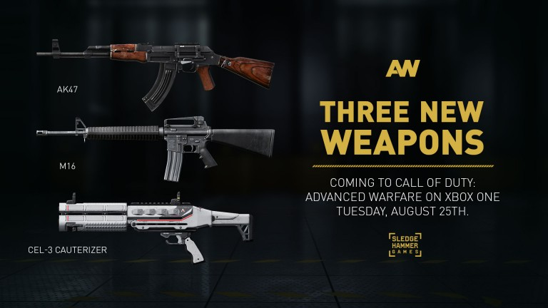 De nouvelles armes pour Call of Duty : Advanced Warfare