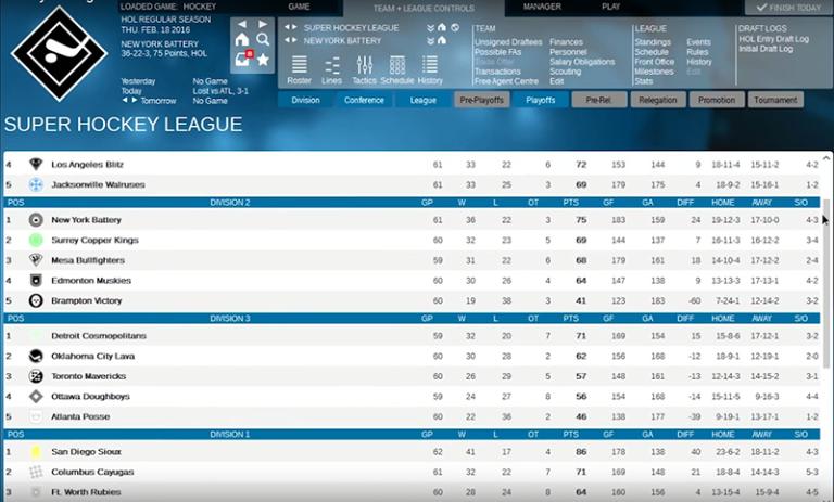 Franchise Hockey Manager 2 : de la gestion sans baston.