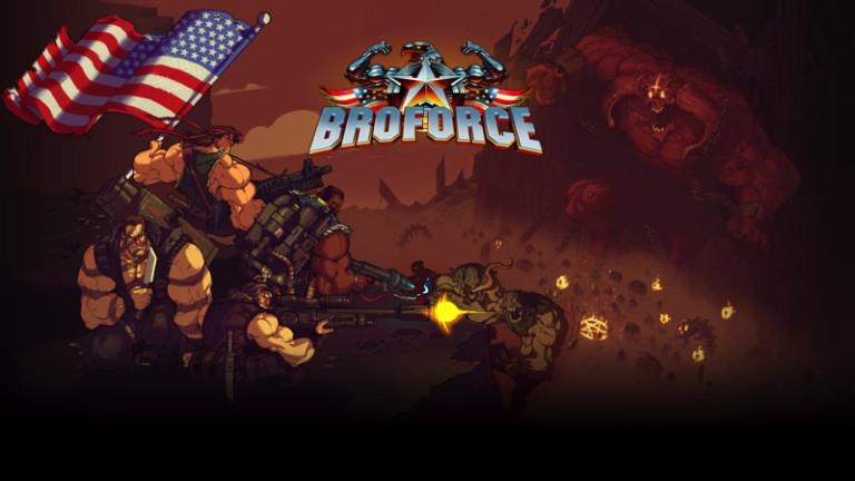 Broforce est enfin disponible en version finale