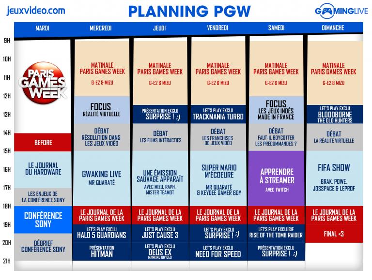 PGW : Le programme eSport du salon