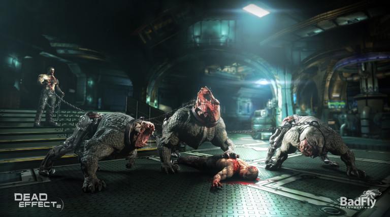 Dead Effect 2 : Dans l'espace, personne ne vous entendra swipper