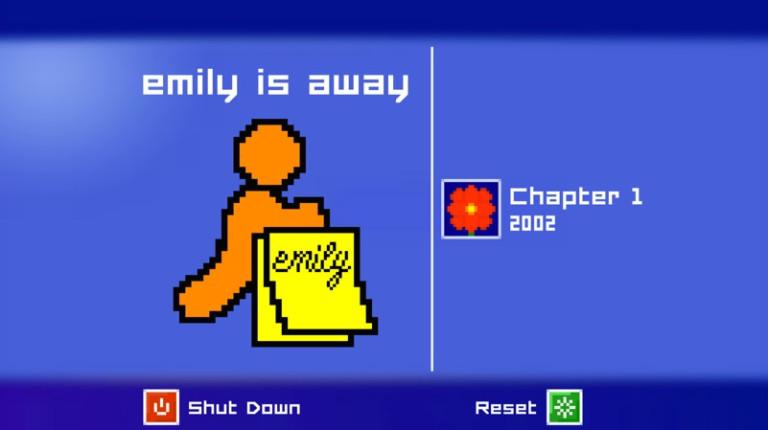 Emily is Away - Quand le jeu vidéo vous entraîne à la séduction