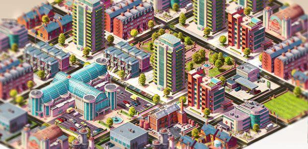 Concrete Jungle : Mix entre jeu de cartes et City-builder sur PC