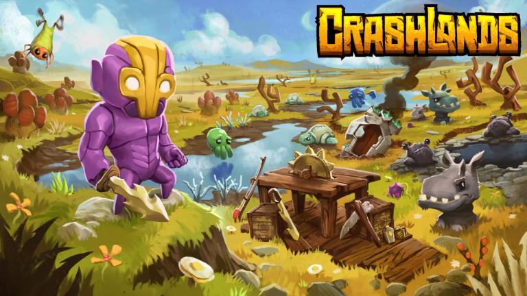 Crashlands trouve une date de sortie
