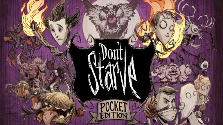 Don't Starve Pocket Edition: La survie à portée de doigts