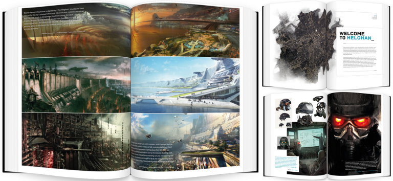 Killzone Visual Design : un livre qui décortique la saga