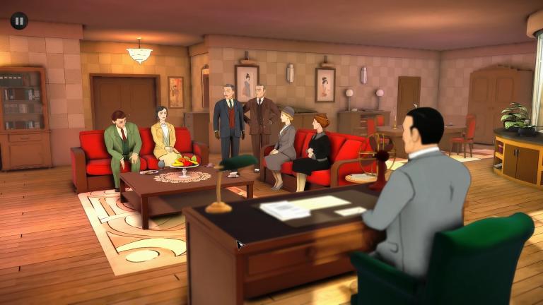 Chapitre 4 : interrogatoire de groupe à Londres