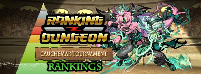 Puzzle & Dragons : Ra Dragon à l'honneur du Ranking Dungeon #3