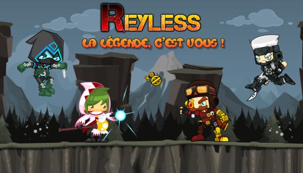 Reyless, quand le MOBA rencontre la plateforme 2D