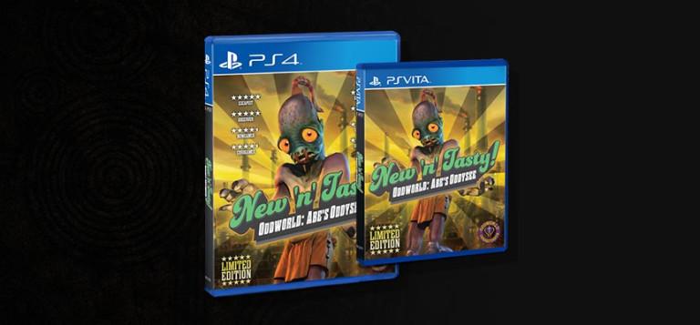 Oddworld : New 'n' Tasty ! : bientôt en version boite pour PlayStation 4 et PS Vita