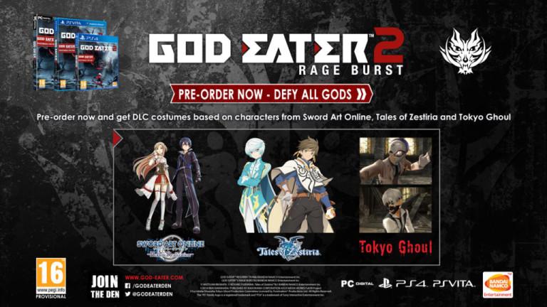 God Eater 2 : Rage Burst et Ressurection débarquent cet été en Europe
