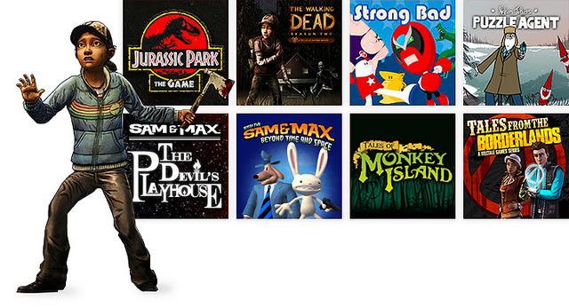 8 jeux Telltale Games rejoignent le PlayStation Now