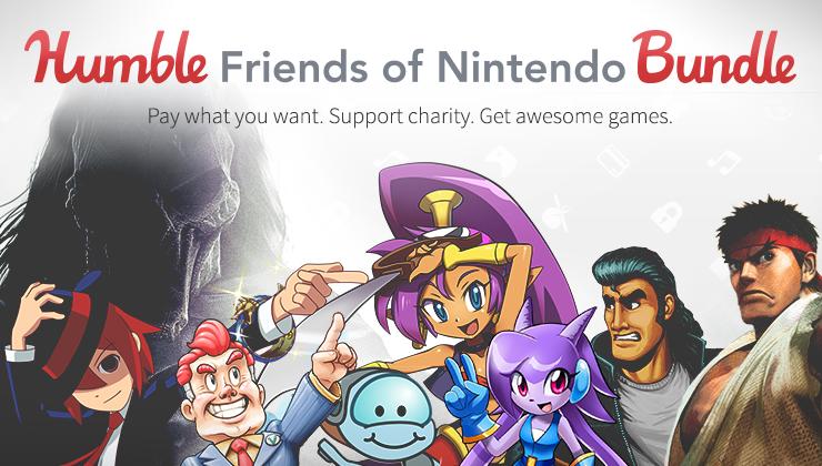 Des jeux Wii U et 3DS à petits prix grâce au Humble Bundle Nintendo